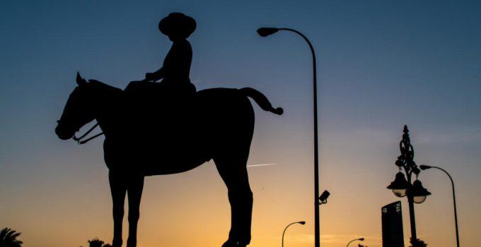 Monument Maria De Las Mercedes In Seville