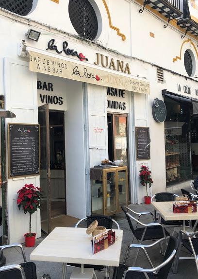 La loca Juana . Bar de vinos.-sevilla