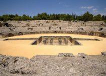 Les Ruines De Italica Santiponce
